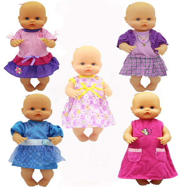 Beautiful Dress Set Clothes Fit 35 Cm Nenuco Doll Nenuco Y Su Hermanita Doll Accessories