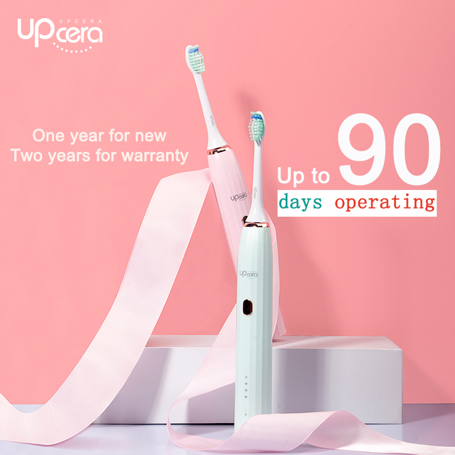 Upcera Sonic Lovers Electric Toothbrush Waterproof Automatic Tooth Brush Toothbrush Head Replaceable