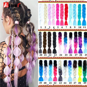 Synthetic Hair Extensions Ombr
