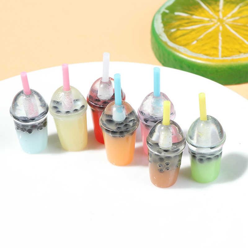 Nieuwe 5Pcs Mini Water Flessen Poppenhuis Miniatuur Pop Voedsel Keuken Woonkamer Accessoires Kids Gift Pretend Play Toys
