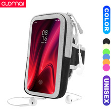 running armbag Redmi K20/Pro Note 8 7 Pro 6 5 Sports arm bag for xiaomi 5A 5s 6Plus 4 3S mobile phone outdoor workout Unisex