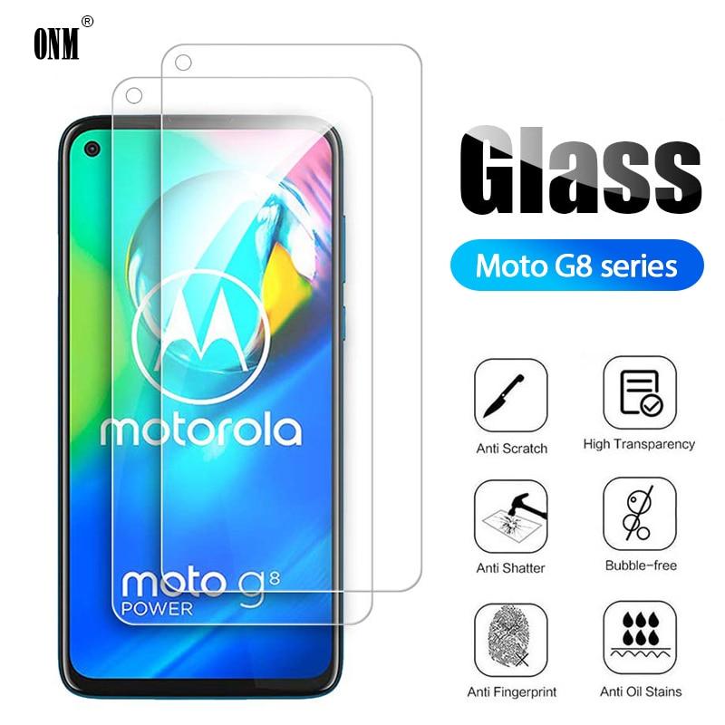 2Pcs G8 Power Tempered Glass For Motorola Moto G8 Power Screen Protector For Motorola Moto G8 Plus Protective Glass Film