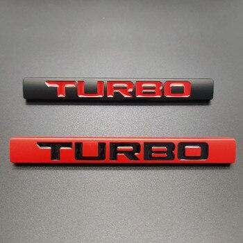 3D Metal Car Sticker Turbo Logo Emblem Badge Decals for Turbo Logo BMW Audi Volkswagen Ford Nissan Toyota Honda Jeep Volvo Opel dsycar 1 pair 3d metal turbo car sticker emblem badge for jeep bmw ford volvo nissan mazda audi vw honda toyota lada chevrolet