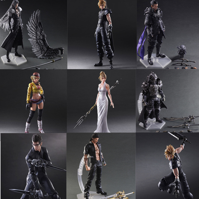 Figures Toy Doll Aurum Cindy Final-Game Play Arts Kai Noctis Fantasy Cloud Strife Squall Leonhart
