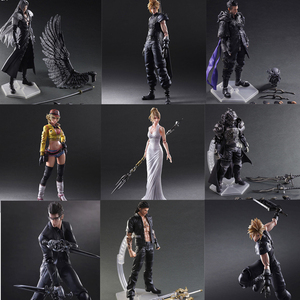 Image 1 - Final Game Fantasy Play Arts Kai Action Figure Sephiroth Cloud Strife Noctis Lucis Cindy Aurum Squall Leonhart Figures Toy Doll