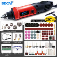 BDCAT 400W High Power Tools Electric Grinder Mini Drill Variable Speed Rotary Tools Polishing Machine with Dremel Tool Accessory