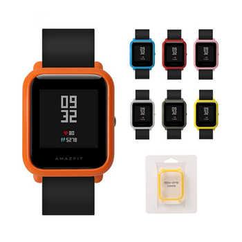 Für Amazfit Schutzhülle Abdeckung für Xiaomi Huami Amazfit Bip BIT TEMPO Lite Jugend Smart uhr Strap Kunststoff PC Shell stoßstange neue