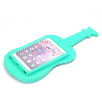 7.9 Kids Guitar Shape Case for IPad Mini 1 2 EVA Shockproof Kid Stand Handle Foam Cover 3 4 Tablet Protective Cases