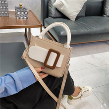 Summer Small Bag Women's Trendy Small And Fresh Messenger Bag Versatile Fashion Color Contrast Mini Handbag