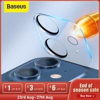 Baseus-Película de lente de cristal para iphone 12 Pro Max 12, Mini Protector de cámara, funda protectora de lente para Iphone 12 Pro
