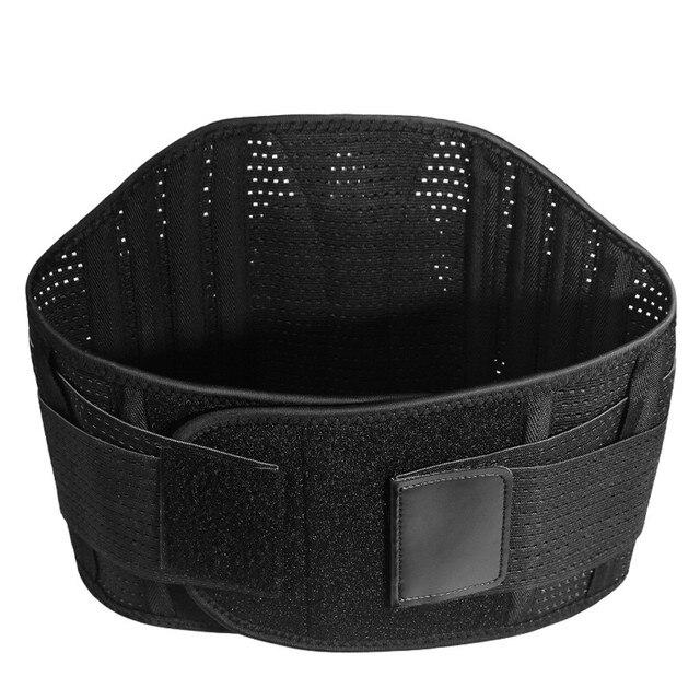 Sport waist support belt weightlifting Back Support bar Protective gear Polyester waist trimmer fitness sweat belt 1