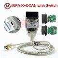 + DCAN USB Интерфейс для B-MW OBD читатель может диагностический сканер включен INPA DIS SSS NCS кодирования Авто сканер штрих-кода