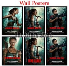 Tomb Raider Film White Kraft Paper Poster Home Decor Painting classic prints 42X30cm