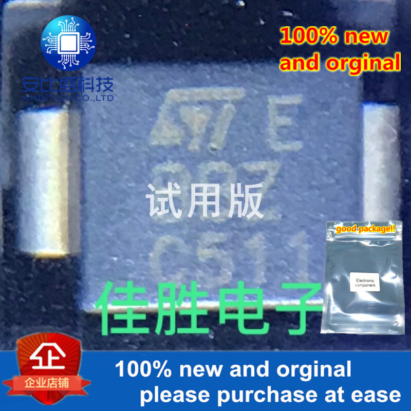 20pcs 100% New And Orginal SMBJ5.0CA  DO214AA Silk-screen BBZ Silver-plated Two-way Transient Tube  In Stock