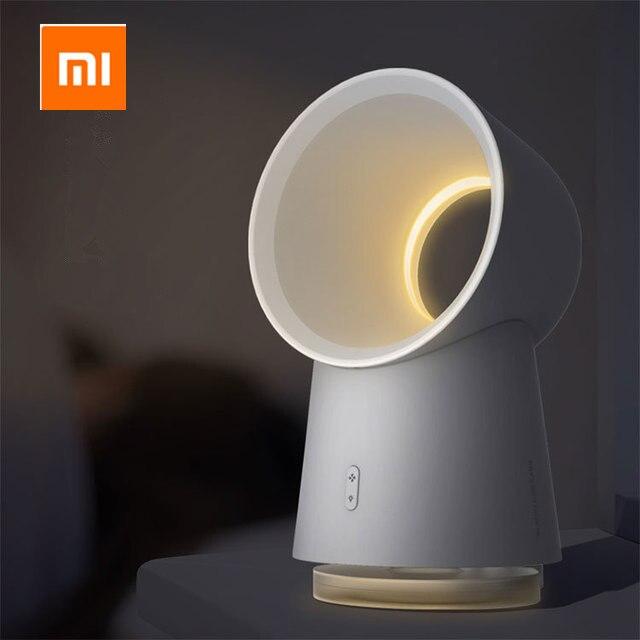 Xiaomi norma mijia HL Vita Felice 3 in 1 Mini Ventola Di Raffreddamento Senza Lama Desktop Fan Mist Umidificatore w/HA CONDOTTO LA Luce
