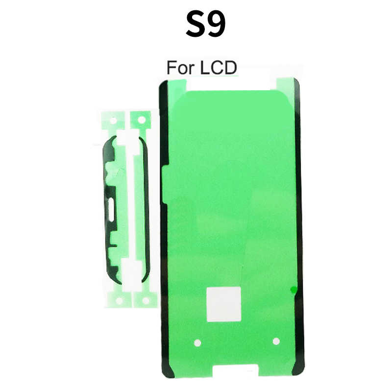 מול LCD תצוגת מסך מסגרת דבק חזרה סוללה כיסוי מדבקת דבק לסמסונג גלקסי S10 S9 S8 S7 קצה הערה 9 8 10 בתוספת