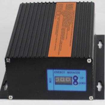 Ветровой солнечный гибридный контроллер светодиодный дисплей 200 Вт 300 Вт 400 Вт 500 Вт 600 Вт MPPT 12V24V авто гибридный контроллер усилитель низкого