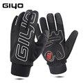 GIYO S-04, зимние водонепроницаемые термополиуретановые перчатки с флисовой изоляцией, перчатки для сноуборда, снега, лыж, для велоспорта, вело...