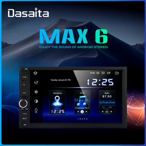 "Dasaita Android Universal Car 2 Din Radio 7"" IPS Screen Android 9.0 Stereo Multimedia Navigation for Nissan Built-in DSP(China)"