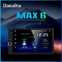 """Dasaita Android Universal Car 2 Din Radio 7 """"ekran IPS Android 9.0 Stereo multimedialna nawigacja dla Nissan wbudowany DSP w Samochodowe odtwarzacze multimedialne od Samochody i motocykle na"""