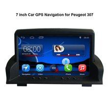 7 zoll Android 7,1 Kapazität Touchscreen Auto Media-Player für Peugeot 307 GPS Navigation Bluetooth Video player