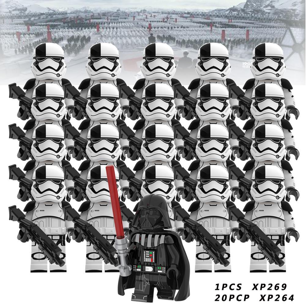 Star War Set  Luke Leia Starwars Darth Vader Maul Sith Malgus Han  Ewok Yoda   Building Blocks Toys For Children