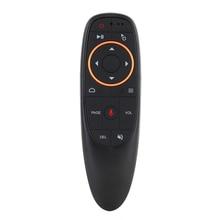 G10 пульт дистанционного управления 2,4 ГГц Беспроводная воздушная мышь G10s голосовой микрофон гироскоп ИК обучение для Android tv box T9 H96 Max X96 mini
