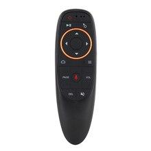 Mando a distancia inalámbrico G10s Pro con retroiluminación 2,4 GHz, Air Mouse G10, micrófono de voz, giroscopio IR, aprendizaje para Android tv box