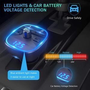 Автомобильный MP3 плеер CDEN с Bluetooth 5,0, приемником, FM передатчиком, двумя USB портами, автомобильное зарядное устройство, U диск, TF карта, аксессуары для интерьера|MP3-плеер для авто|   | АлиЭкспресс