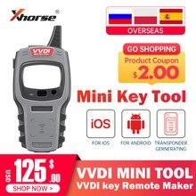 Version mondiale Xhorse VVDI MINI outil clé fabricant à distance pour IOS et Android remplacer l'outil clé VVDI avec 10 pièces programmeur de clé Super puce