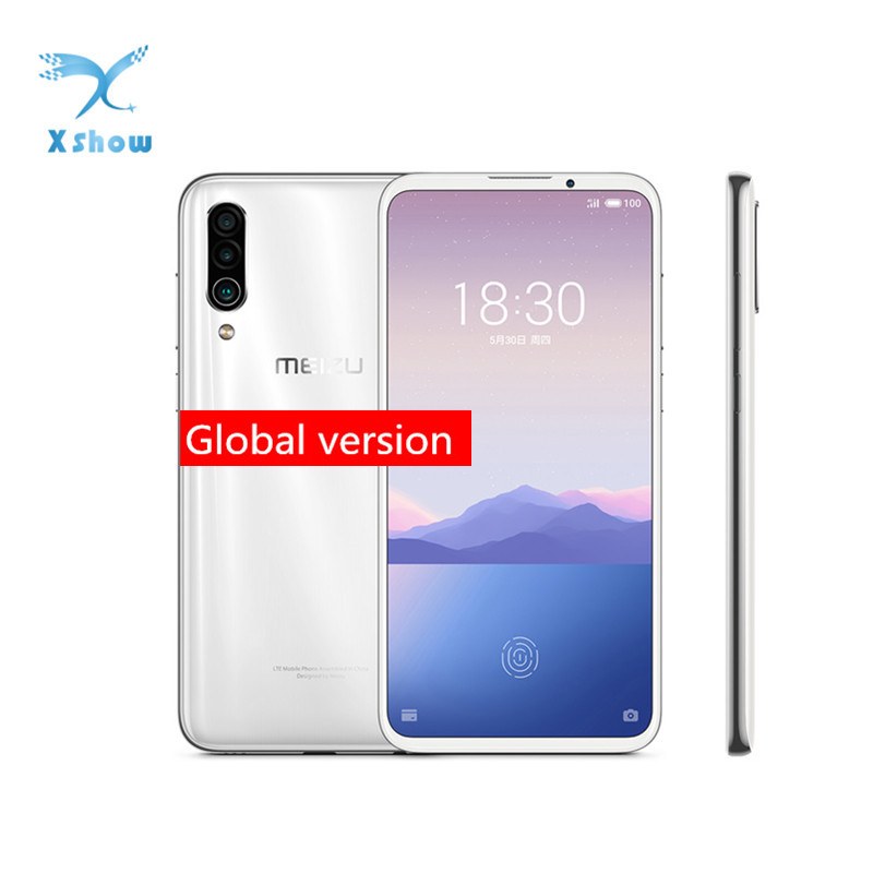 "Global Version Meizu 16XS 16 XS 6G 64G/128G Mobilephone Snapdragon 675 6.2"" 48MP Triple Camera AI Front 16MP 4000mAh