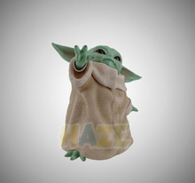 Hot Movie Star Wars The Force Awakens Baby Yoda 10cm PVC Action Figure Statue Model Toy New In Box Great Birthday Gift saintgi saintgi star wars the force awakens kylo ren action figure pvc 16cm model toys kids gifts collection free shipping