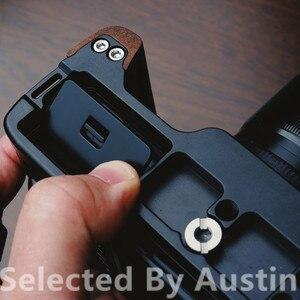 Image 2 - الخشب الخشب قبضة اليد قوس الإفراج السريع ل لوحة ل فوجي Xpro3 فوجي فيلم X PRO3