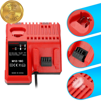 цена на M12 & M18 Rapid Replacement Charger M12-18Fc 12V&18V Xc Lithium Ion Charger For Milwaukee Xc Battery