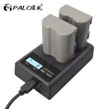 PALO 7.4v 2400mAh EN-EL3e EN EL3e EL3a ENEL3e Li-ion batterie pour appareil photo Numérique Nikon D30 D50 D70 D70S D90 D80 D100 D200 D300