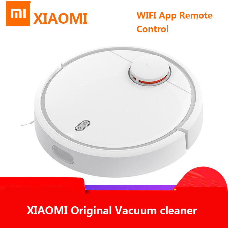 XIAOMI Original MIJIA Robot Vacuum Cleaner for Home USB Automatic Sweeping Dust Sterilize Smart Planned WIFI App Remote Control