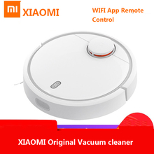 XIAOMI Original MIJIA Robot Vacuum Cleaner for Home USB Automatic Sweeping Dust Sterilize Smart Planned WIFI App Remote Control 2018 new xiaomi mitu robot smart building block robot 305 bricks bluetooth mobile remote phone app control for xiaomi smart home
