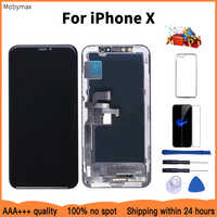 AAAA 100% New OLED Lcd For iPhone X Display Wholesale Price From Factory Display For iPhone X Screen 100% Test Good 3D Touch
