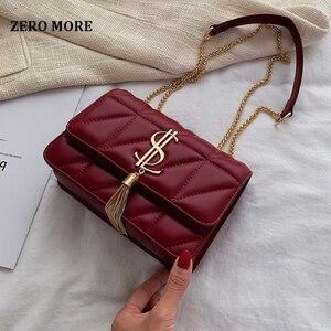 Image 1 - 2020 Luxury Famous Brand Women Bags Designer Lady Classic Plaid Shoulder Crossbody Bags Leather Women Messenger Handbags