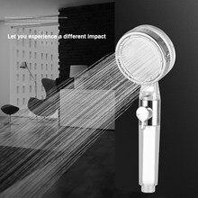 Handbrause Regen Dusche Kopf Doppel Filter Hochdruck Bad Dusche Zubehör Wasser Saving Einstellbar Sprayer Für Bad Home