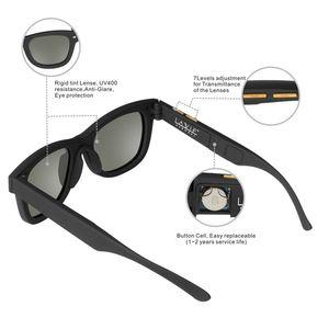 Image 3 - Gafas de sol polarizadas con diseño Original para hombre, lentes de sol con atenuación LCD, ajustables mannualmente, Estilo Vintage, 2019