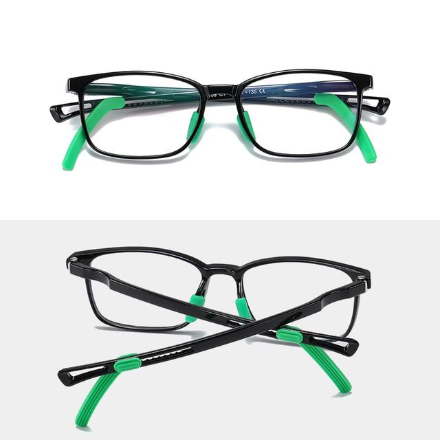 очки с защитой от сисветильник молодежные для подростков квадратные фотография