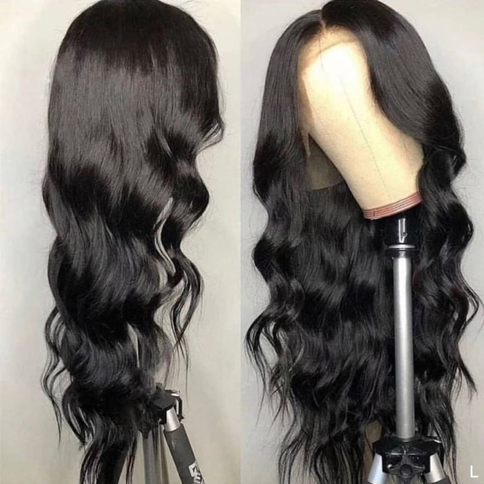 Brazilian Body Wave Wig Lace Front Wig Pre Plucked With Baby Hair Remy Wig 150% 13x4 Lace Frontal Human Hair Wig For Black Women