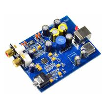 ES9028Q2M + SA9023 USB Decoder Board Fever Audio DAC Sound Card YJ d3 mini wm8741 amplifier dac decoder usb sound card hires fever decoder sound card