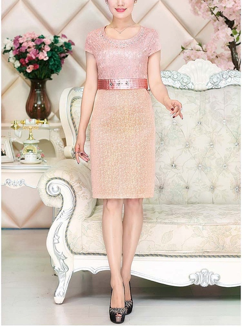 Lace Mother of the Bride Dress 4