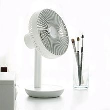 Kreative Doppel-vane Mini USB Fan Für Office Home Tragbare Computer PC Fan Elektrische Laptop Fan Mit Doppel Seite fan Klingen(China)