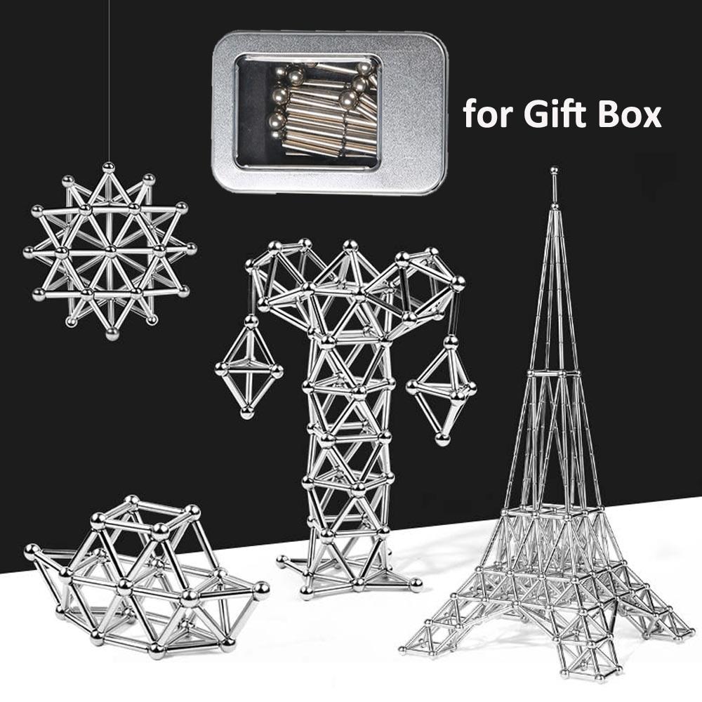 Educational Magnetic Sticks Building Blocks Fun Construction Puzzle Toys Games