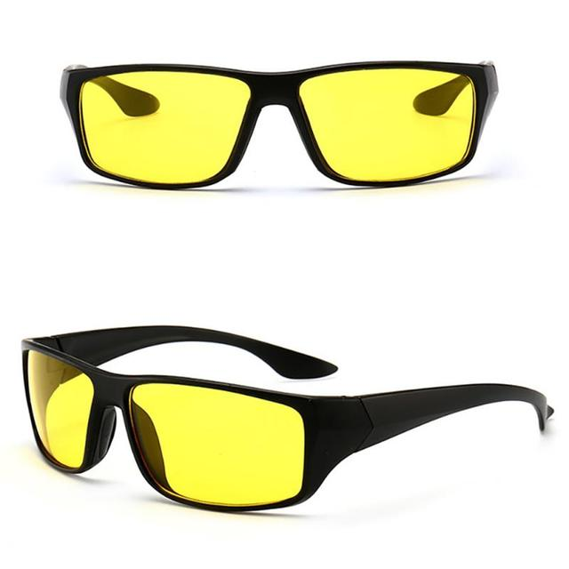 Anti-Glare Night Vision Driver Goggles Night Driving Enhanced Light Glasses Fashion Sunglasses Goggles Car Accessries 3