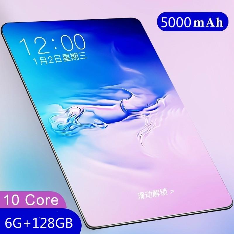 Планшет игровой, 4G LTE, Bluetooth, 6 + 2021 ГБ, 128 дюйма, Android 10,1, 2 SIM