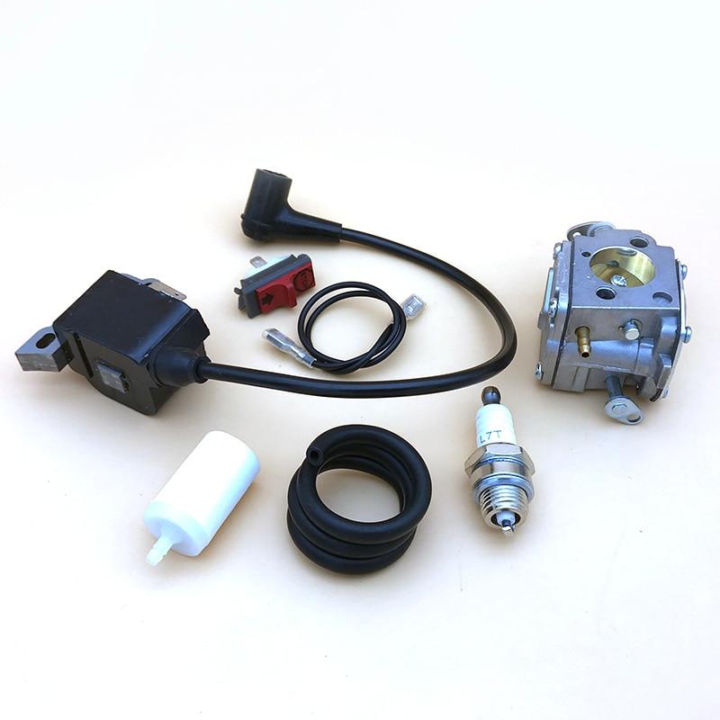 5039014-01 266 Carburetor  Filter 272   Chainsaw For Spark Fuel Coil 268 Kit Line Ignition 272XP Plug 61 5032803-16 Husqvarna